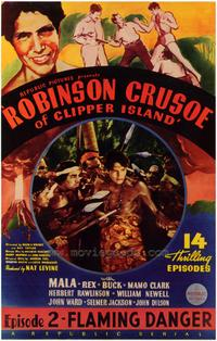 Robinson Crusoe of Clipper Island - 27 x 40 Movie Poster - Style B