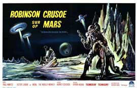 Robinson Crusoe on Mars - 11 x 17 Movie Poster - Belgian Style A
