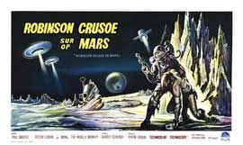 Robinson Crusoe on Mars - 27 x 40 Movie Poster - French Style A