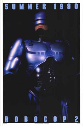 RoboCop 2 - 27 x 40 Movie Poster - Style B