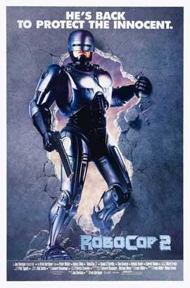 RoboCop 2 - 27 x 40 Movie Poster - Style C