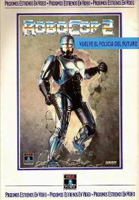 RoboCop 2 - 27 x 40 Movie Poster - Spanish Style B