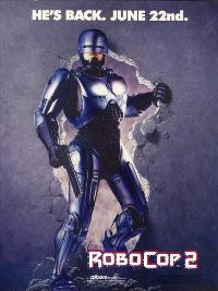 RoboCop 2 - 43 x 62 Movie Poster - Bus Shelter Style B