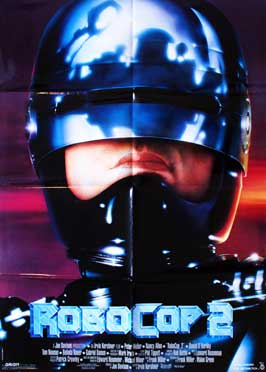 RoboCop 2 - 27 x 40 Movie Poster - Danish Style A
