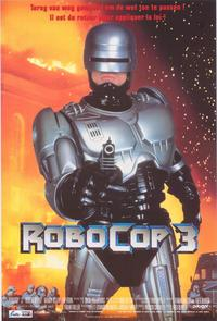 RoboCop 3 - 11 x 17 Movie Poster - Belgian Style A
