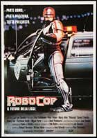 RoboCop - 11 x 17 Movie Poster - Italian Style A