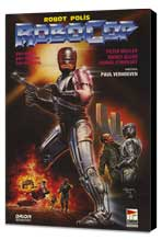 RoboCop - 11 x 17 Poster - Foreign - Style B - Museum Wrapped Canvas