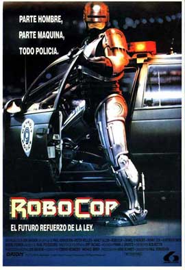 RoboCop - 11 x 17 Movie Poster - Spanish Style A