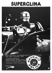 RoboCop - 43 x 62 Movie Poster - Polish Style A