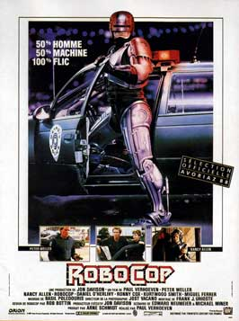 RoboCop - 11 x 17 Movie Poster - French Style A