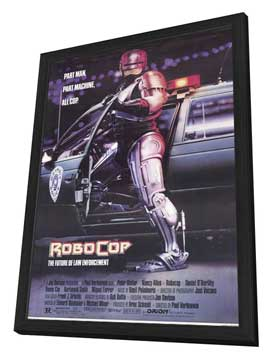 RoboCop - 11 x 17 Movie Poster - Style A - in Deluxe Wood Frame