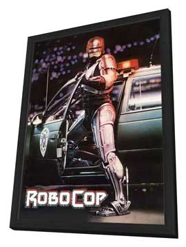 RoboCop - 27 x 40 Movie Poster - Style B - in Deluxe Wood Frame
