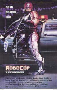 RoboCop - 11 x 17 Movie Poster - Style A - Museum Wrapped Canvas