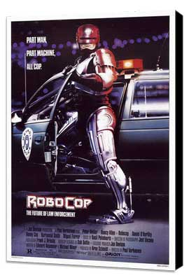 RoboCop - 27 x 40 Movie Poster - Style A - Museum Wrapped Canvas