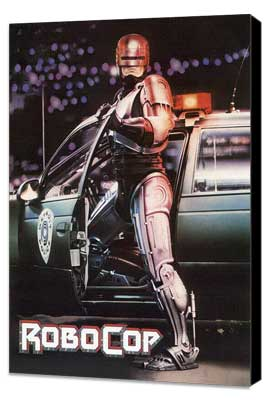 RoboCop - 27 x 40 Movie Poster - Style B - Museum Wrapped Canvas