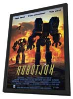 Robot Jox - 27 x 40 Movie Poster - Style B - in Deluxe Wood Frame