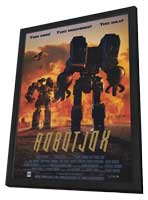 Robot Jox - 11 x 17 Movie Poster - Style B - in Deluxe Wood Frame