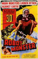 Robot Monster - 11 x 17 Movie Poster - Style A