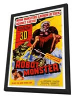 Robot Monster - 27 x 40 Movie Poster - Style A - in Deluxe Wood Frame