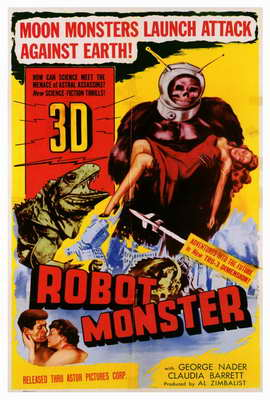 Robot Monster - 27 x 40 Movie Poster - Style A