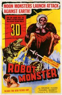 Robot Monster - 43 x 62 Movie Poster - Bus Shelter Style A