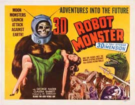 Robot Monster - 22 x 28 Movie Poster - Half Sheet Style A