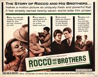 Rocco and His Brothers - 22 x 28 Movie Poster - Half Sheet Style A