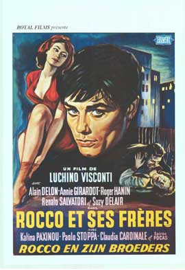 Rocco and His Brothers - 11 x 17 Movie Poster - Belgian Style A