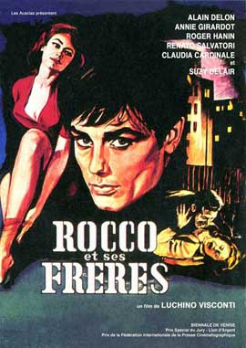Rocco and His Brothers - 11 x 17 Movie Poster - French Style A