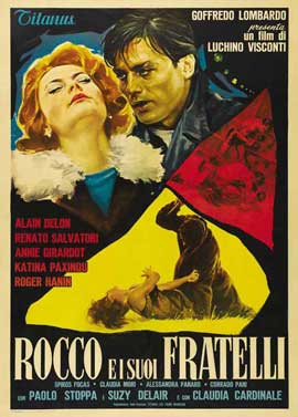 Rocco and His Brothers - 11 x 17 Movie Poster - Italian Style B