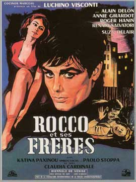 Rocco and His Brothers - 11 x 17 Movie Poster - Russian Style A