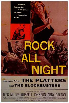 Rock All Night - 27 x 40 Movie Poster - Style A
