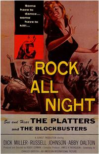 Rock All Night - 43 x 62 Movie Poster - Bus Shelter Style A