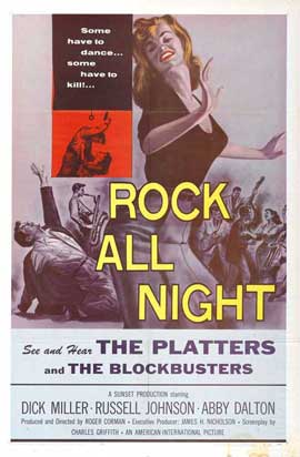 Rock All Night - 27 x 40 Movie Poster - Style B