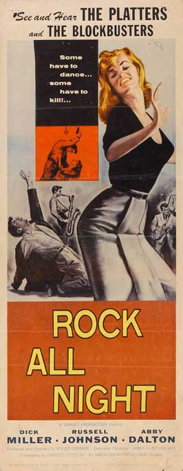 Rock All Night - 14 x 36 Movie Poster - Insert Style A