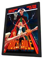 Rock & Rule - 11 x 17 Movie Poster - Style A - in Deluxe Wood Frame