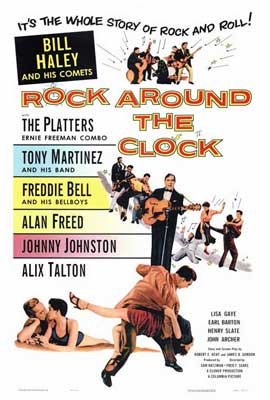 Rock Around the Clock - 27 x 40 Movie Poster - Style A