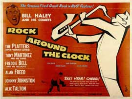 Rock Around the Clock - 11 x 17 Movie Poster - Style B
