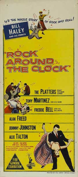 Rock Around the Clock - 14 x 36 Movie Poster - Insert Style A