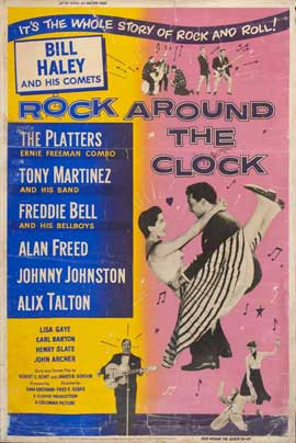 Rock Around the Clock - 11 x 17 Movie Poster - Style D