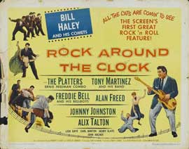 Rock Around the Clock - 22 x 28 Movie Poster - Half Sheet Style B