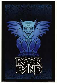 Rock Band - Music Poster - 22 x 34 - Style B