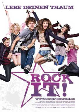 Rock It! - 27 x 40 Movie Poster - German Style A