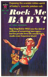 Rock Me Baby! - 11 x 17 Retro Book Cover Poster