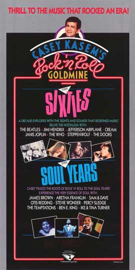 Rock 'N' Roll Goldmine: The Sixties - 11 x 17 Movie Poster - Style A