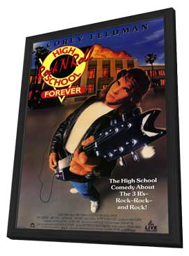 Rock 'n' Roll High School Forever - 11 x 17 Movie Poster - Style A - in Deluxe Wood Frame