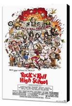 Rock 'n' Roll High School - 11 x 17 Movie Poster - Style A - Museum Wrapped Canvas
