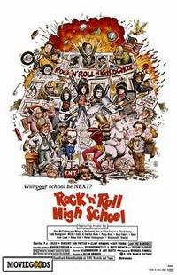 Rock 'n' Roll High School - 43 x 62 Movie Poster - Bus Shelter Style A