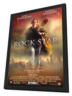 Rock Star - 27 x 40 Movie Poster - Style A - in Deluxe Wood Frame