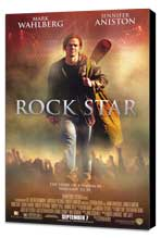 Rock Star - 11 x 17 Movie Poster - Style A - Museum Wrapped Canvas